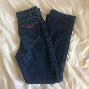 Vintage High Waisted Tracer Jeans